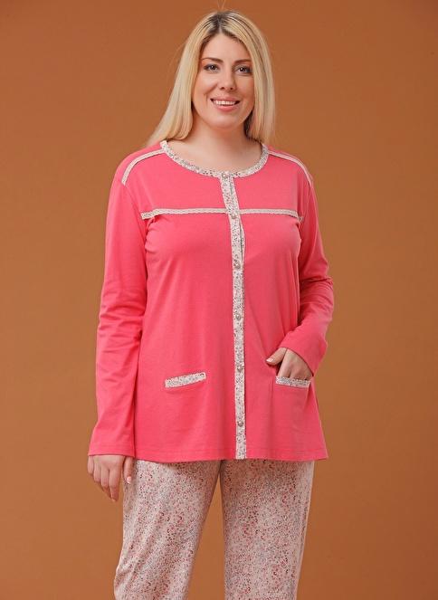 Pjs Pijama Takım Kırmızı